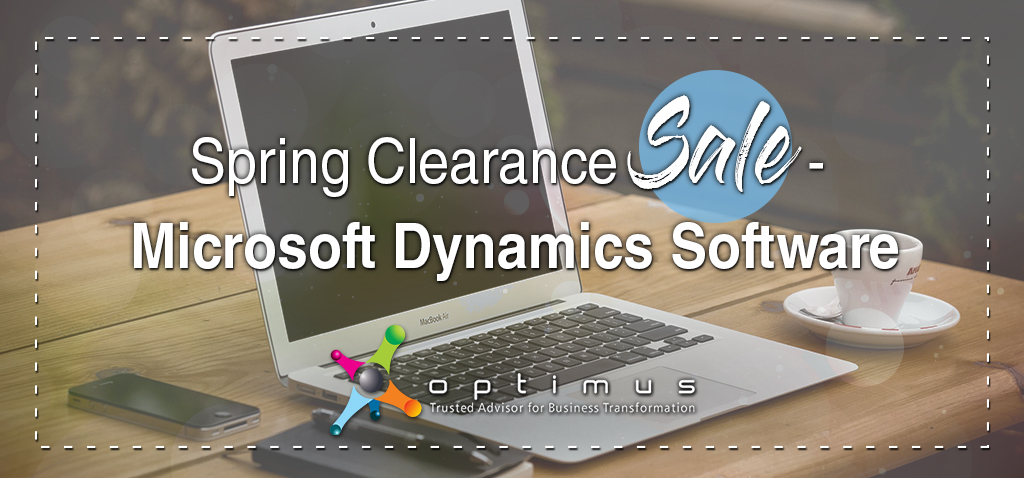 Spring Clearance Sale – Microsoft Dynamics Software