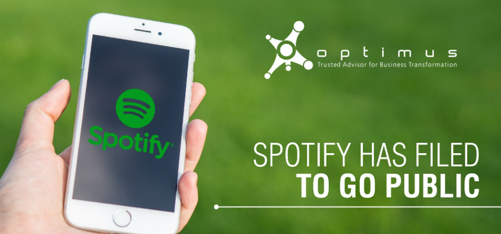 Spotify Has Filed To Go Public