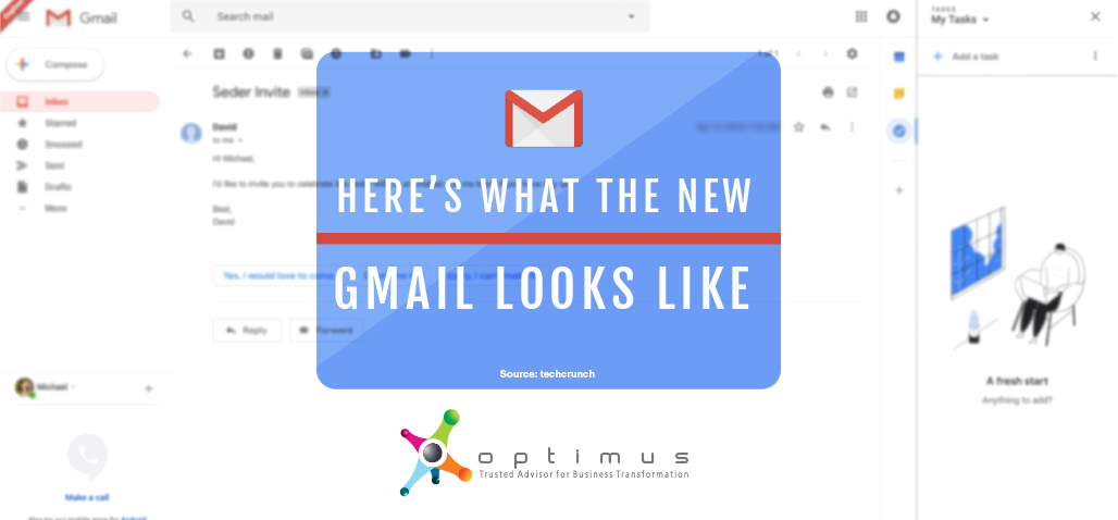 Here's What The New Gmail Looks Like – TechCrunch