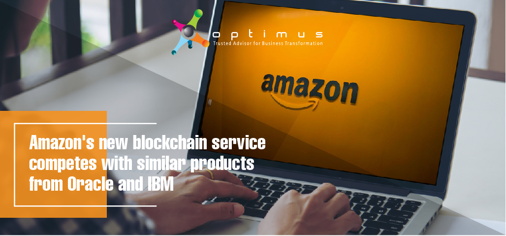 Amazon's New Blockchain Service Competes With Similar Products From Oracle And IBM.