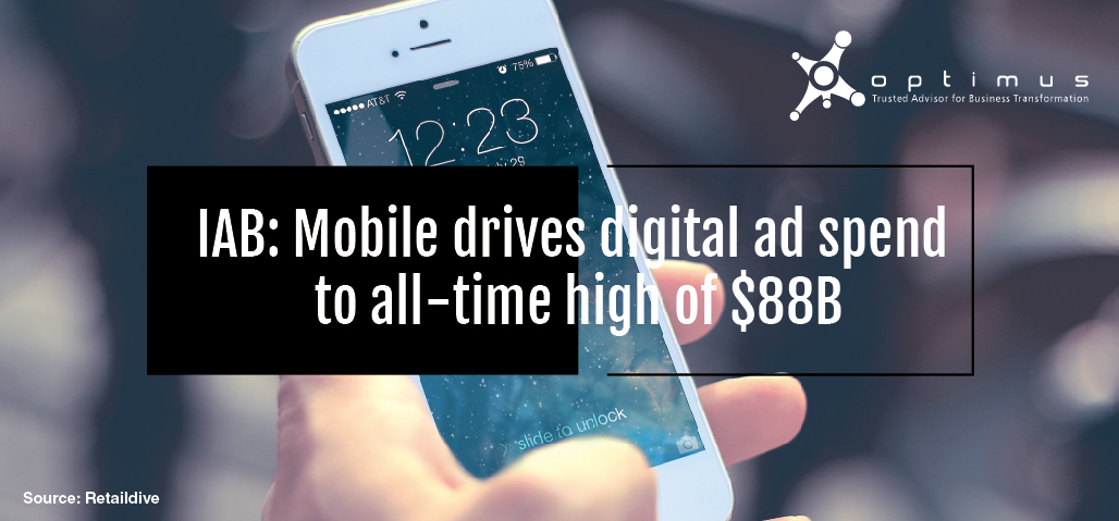 IAB: Mobile Drives Digital Ad Spend To All-time High Of $88B