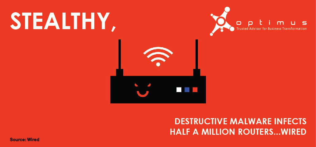 Stealthy, Destructive Malware Infects Half A Million Routers…Wired