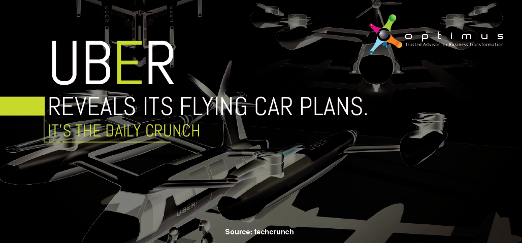 Uber Reveals Its Flying Car Plans. It's The Daily Crunch