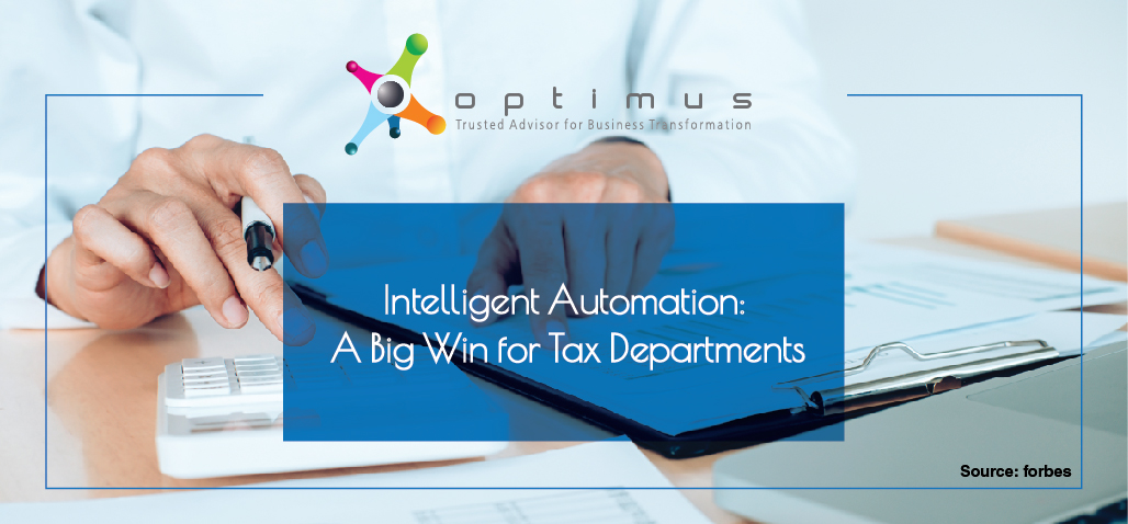 Intelligent Automation: A Big Win For Tax Departments