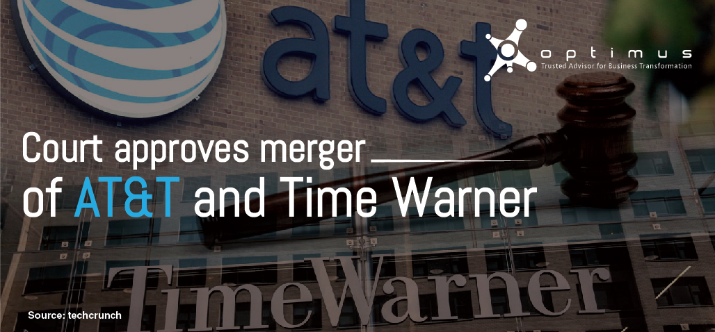 Court Approves Merger Of AT&T And Time Warner