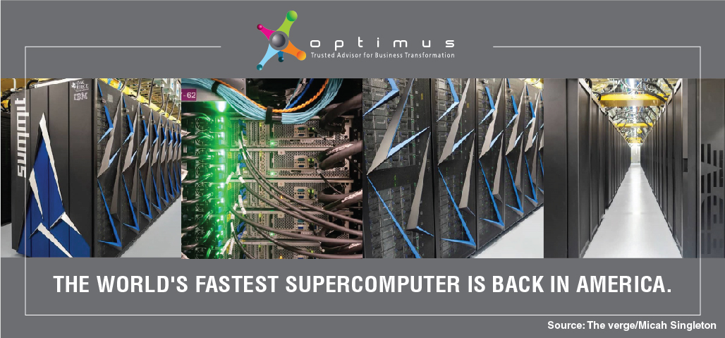 The World's Fastest Supercomputer Is Back In America.
