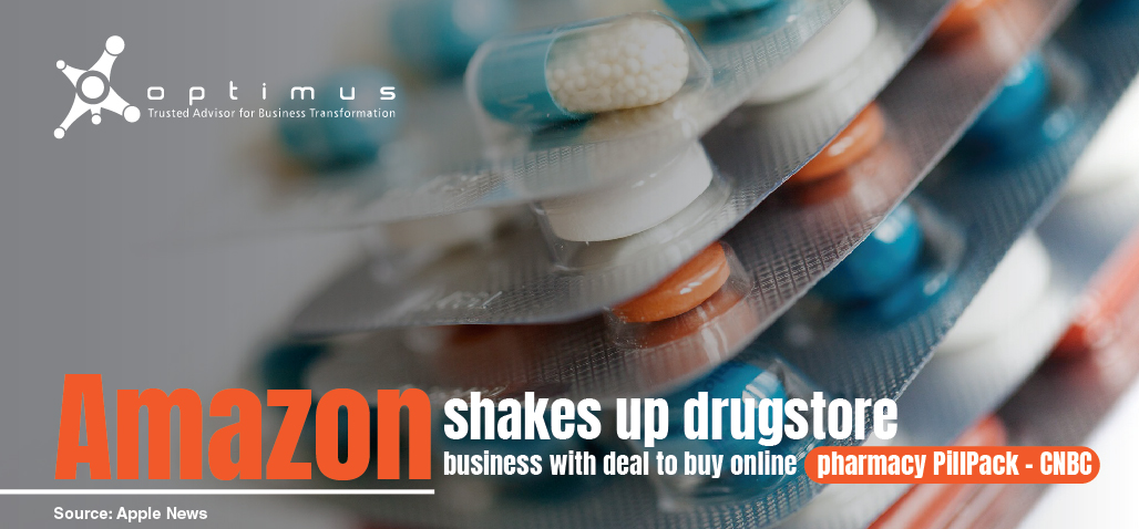Amazon Shakes Up Drugstore Business With Deal To Buy Online Pharmacy PillPack