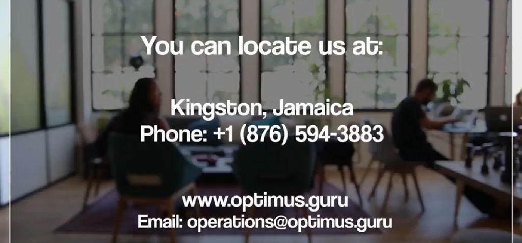 We Focus On Optimizing Businesses In Jamaica