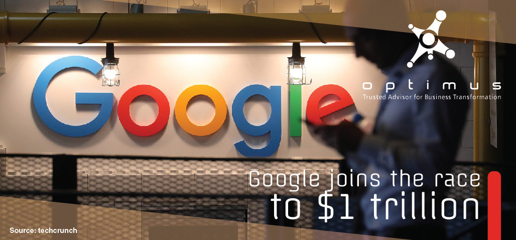 Google Joins The Race To $1 Trillion