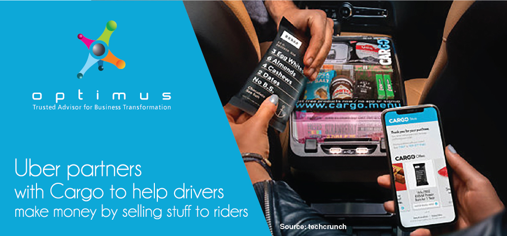Uber Partners With Cargo To Help Drivers Make Money By Selling Stuff To Riders