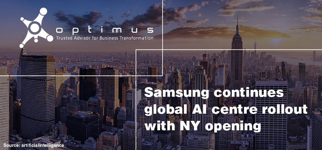 Samsung Continues Global AI Centre Rollout With NY Opening
