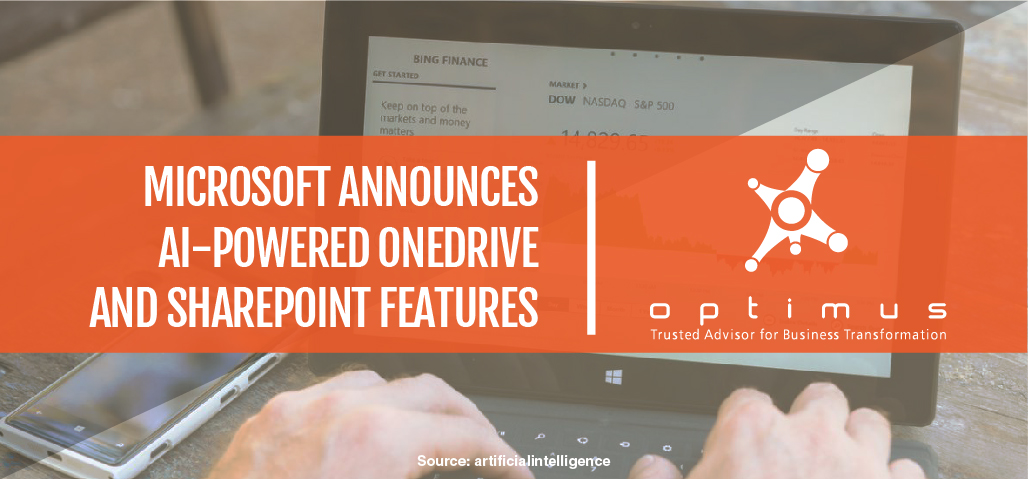 Microsoft Announces AI-powered OneDrive And SharePoint Features