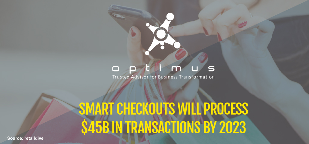 Smart Checkouts Will Process $45B In Transactions By 2023, Study Says