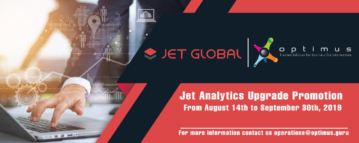 Jet Analytics Upgrade Promotion:  Customer Email Instructions And Campaign Activities