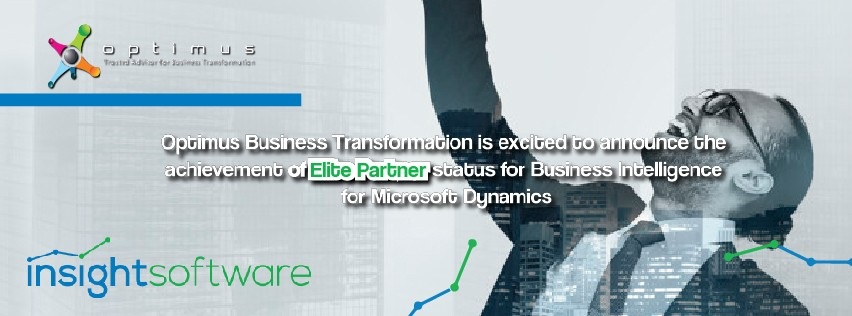 Optimus Business Transformation Is Excited To Announce The Achievement Of Elite Partnet Status For Business Intelligence For Microsoft Dynamics