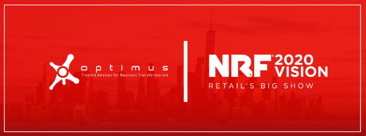 Optimus Will Be Present In The NRF 2020 Vision. See You On January 12th 2020
